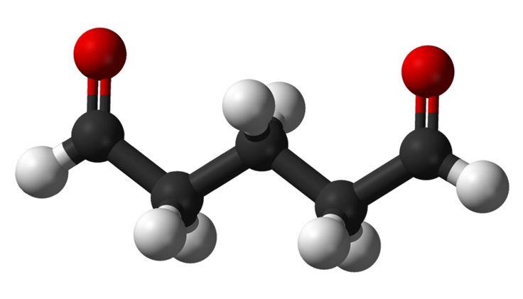 Glutaraldehido Venezuela. El glutaraldehído es un compuesto químico de la familia de los aldehidos que se usa principalmente como desinfectante de equipos médicos y odontológicos así como de laboratorio. #quimicosvenezuela