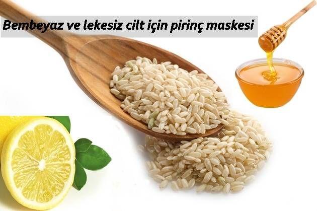 Pirinç maskesi nasıl yapılır, cildi beyazlatır mı?
