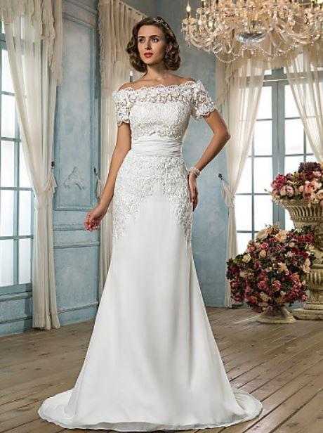 une robe de mariée grande taille
