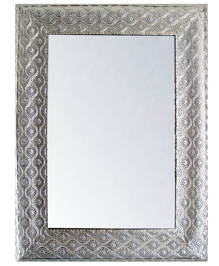 15 best espejos decoracion images on pinterest silver for Espejos rectangulares plateados
