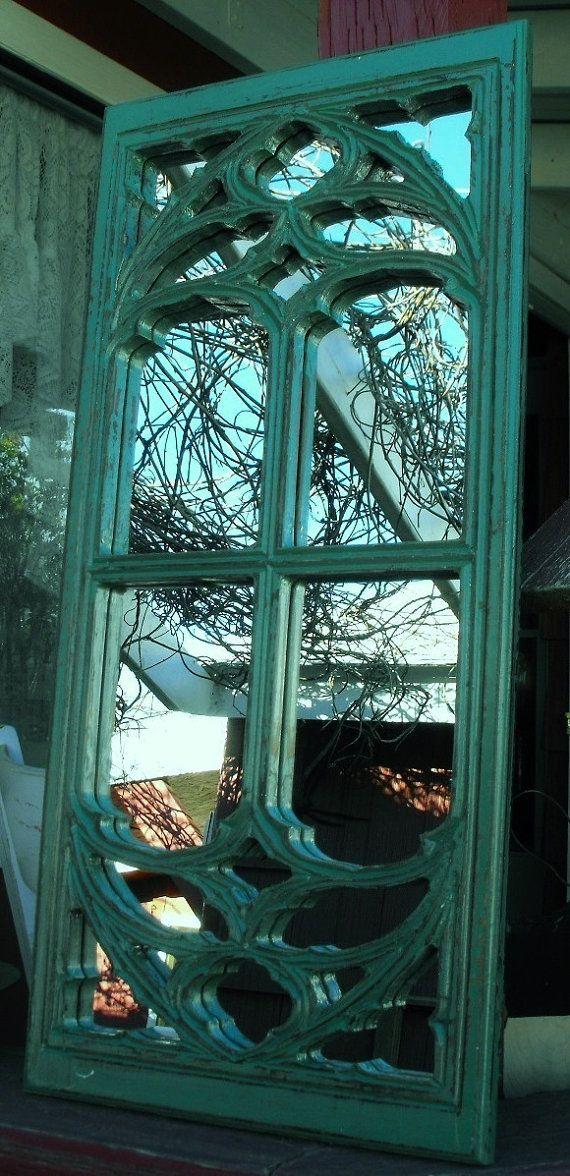17 best images about mirror rorrim on pinterest vintage for Teal framed mirror