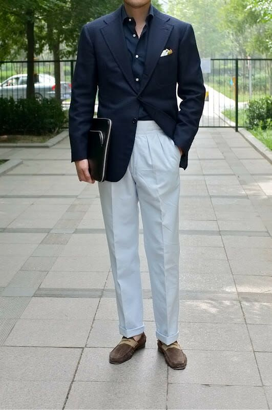 Should You Wear Pleated Pants T H R I F T L I S T Menswear