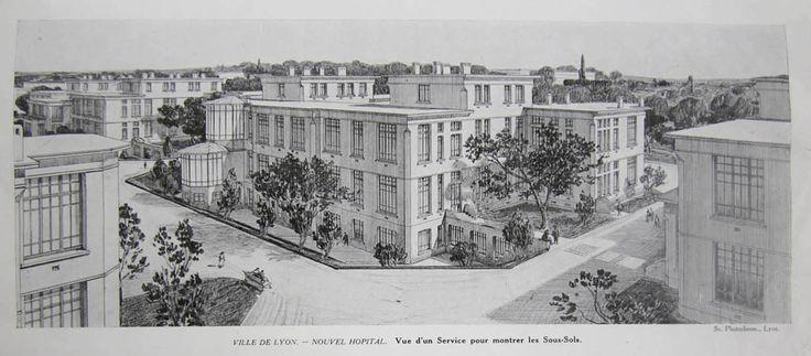 Protorracionalismo Tony Garnier (1869-1948) Cité Industrielle, Fábrica (1901)