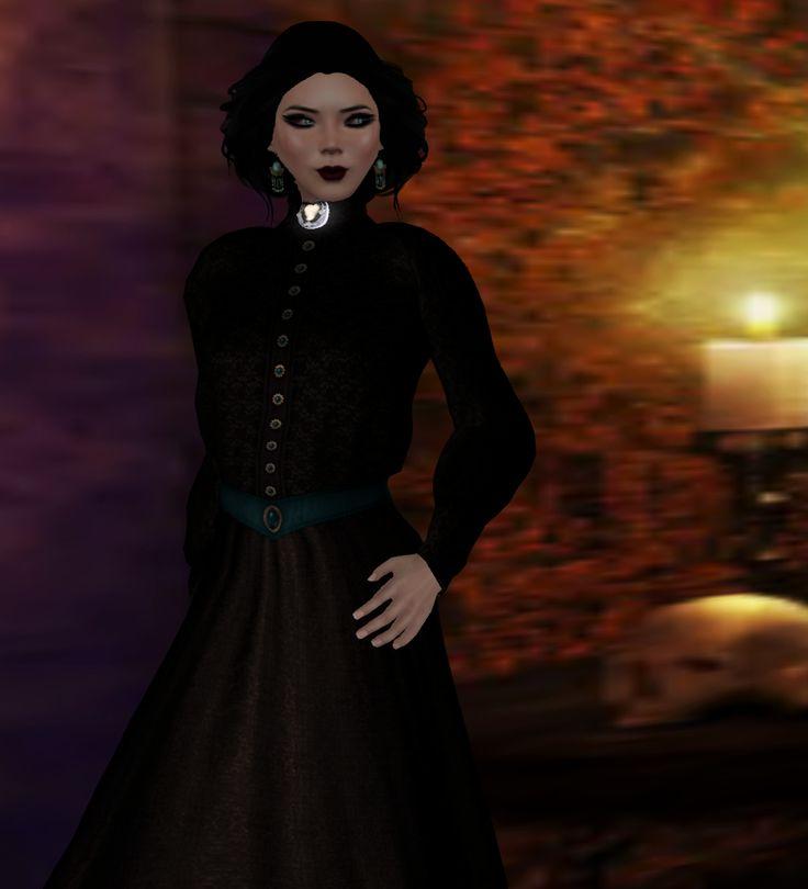 ".:SF:.""Ada"" Steampunk Dress Senzafine"