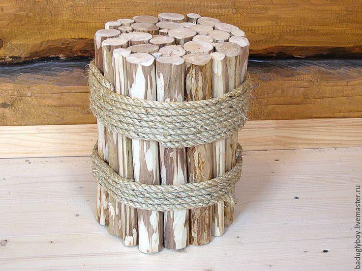 Купить Мебель ручной работы. Табурет из дерева. Деревянный табурет. - артобъект, необычный табурет, табуретка