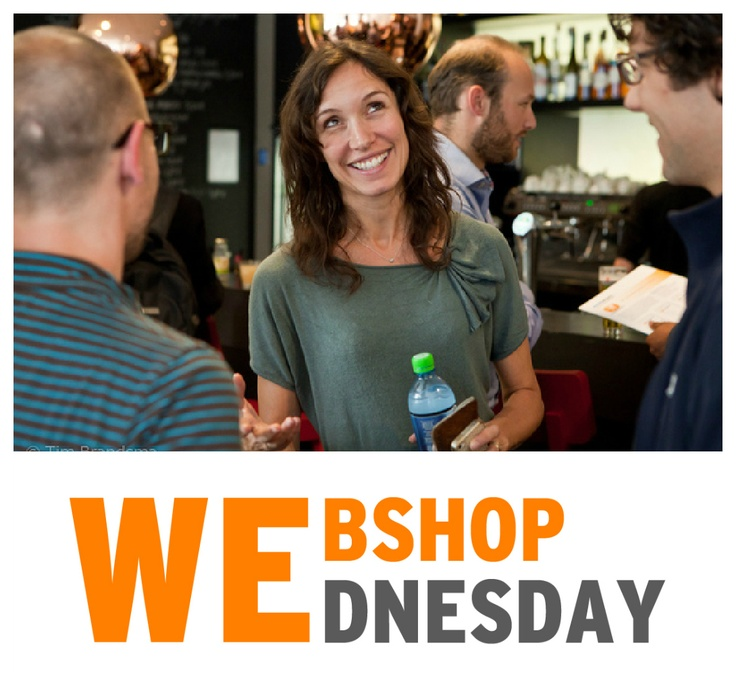 The organizers of Webshop Wednesday:  @Steven Lips  @Martijn Harpe  @Suzan Huesken  Joachim de Boer