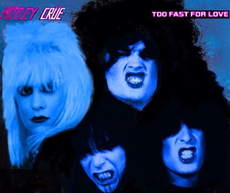 Motley Crue - Too Fast For Love | 80's Hair Bands | Too ...