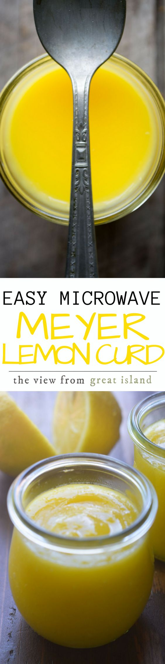 Easy Microwave Citrus Curd ~ turn any type of fresh citrus juice into a luxurious, creamy, spreadable curd in 5 minutes, using your microwave!  | breakfast | jam | lemon curd | orange curd | grapefruit curd | blood orange curd | Meyer lemons