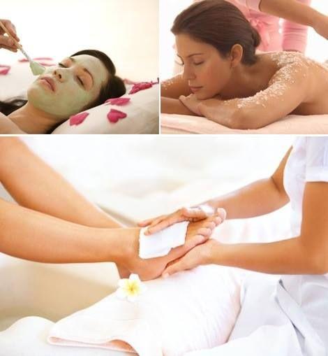 Aura Day Spa presents Facial Massage, Body Massage, Padicure, Beauty Therapy.
