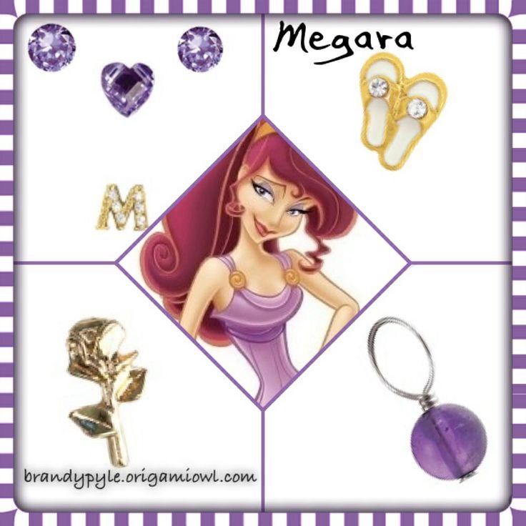 Megara Meg from Disney's Hercules | To place an order visit my website www.julieschmitz.origamiowl.com  |  Check out my FB page too! www.facebook.com/Julieschmitz.origamiowl