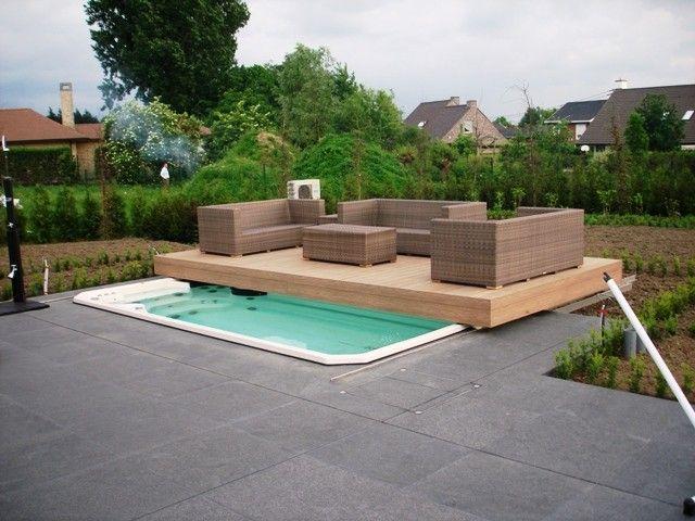 Aanleggen van zwembaden poolhouse grondwerken terrassen zwembad pinterest apartment ideas for Zwembad desing
