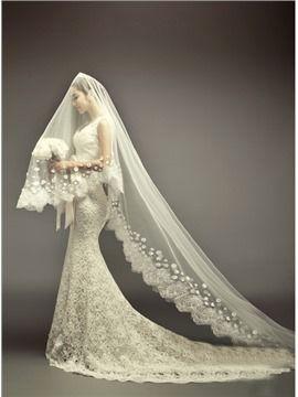 60 La robe de mariée élégante sectorielle trompette en forme de sirène et adaptée à la chapelle