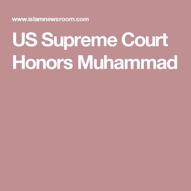 US Supreme Court Honors Muhammad