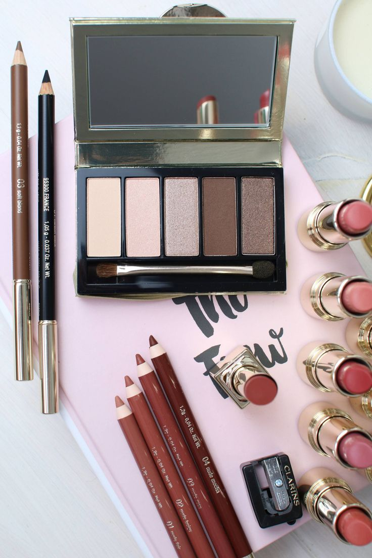 The perfect Clarins nude lip over on www.inthefrow.com