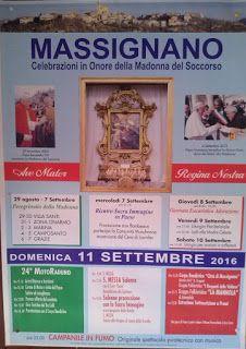 massignanonews: Programma Festa Madonna del Soccorso 2016