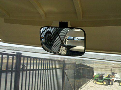 Golf Cart Rear View Mirror for Ez Go, Club Car, Yamaha - http://golfforchampions.com/golf-cart-rear-view-mirror-ez-go-club-car-yamaha/