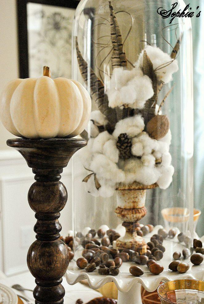 Rustic Glam Thanksgiving Table Setting :: Hometalk