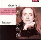 Christophe Graupner: Partitas for Harpsichord, Vol. 1 [CD]