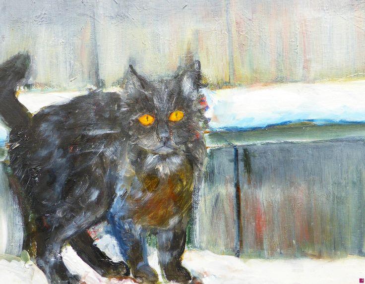 gattino selvatico di Gisela Wendy Krüger