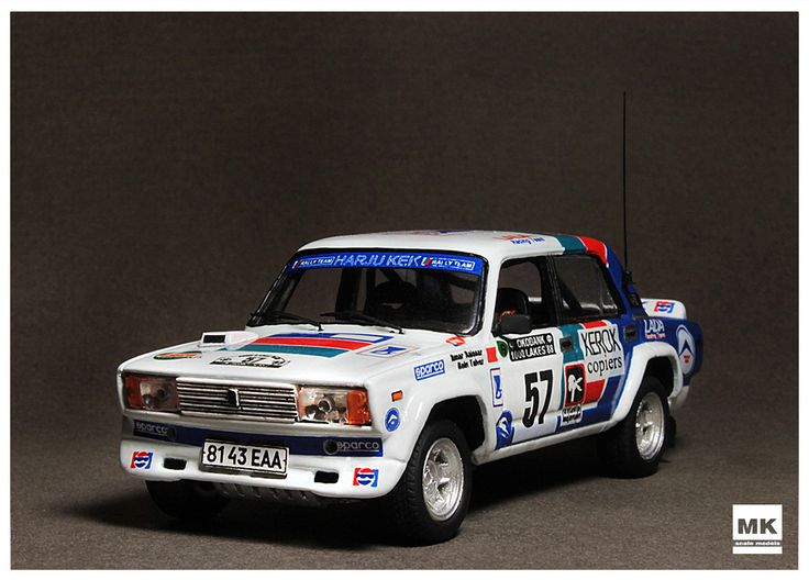 Lada VFTS 1/43 Rally 1000 Lakes 1988 (Resin) I.Raissar/R.Talvar. Price €62 + shipping. Rally final results http://www.ewrc-results.com/final.php?e=2474&t=1000-Lakes-Rally-1988