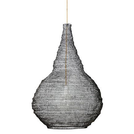 PENDANT | black wire beehive design by marmoset found | The Third Row