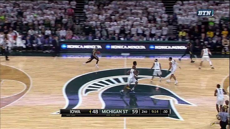 Dunks Galore in Michigan State vs Iowa Game