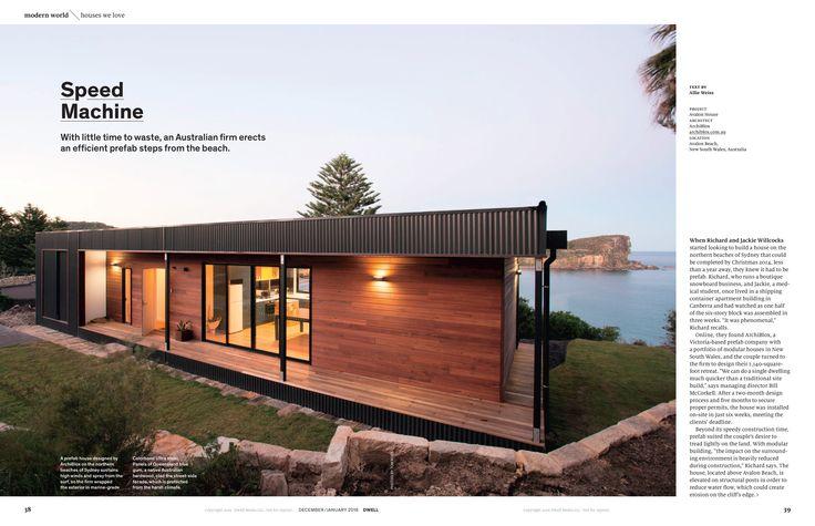 Dwell Magazine | ArchiBlox feature | Avalon House