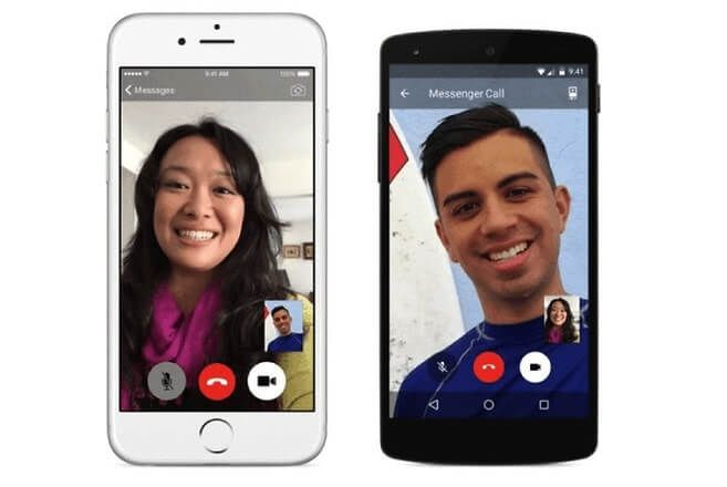 Facetime Video calling from Android to iPhone Facebook