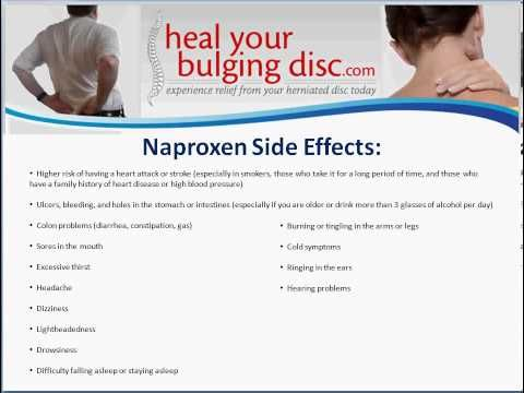 Naproxen - Naproxen Side Effects, Drug Interactions, And Natural Anti Inflammatories - YouTube