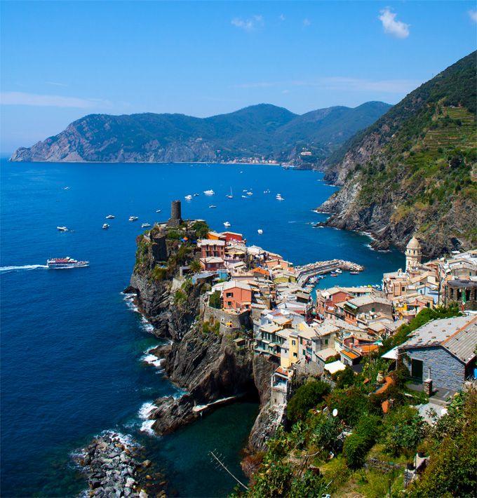 Vernazza, Italy in Cinque Terra