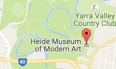 Map of Heide Museum of Modern Art
