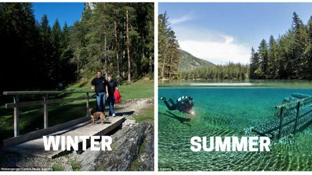 AMWTOUR TRAVEL BLOG: Taman Unik di Austria. Musim Dingin Jadi Taman, Mu...