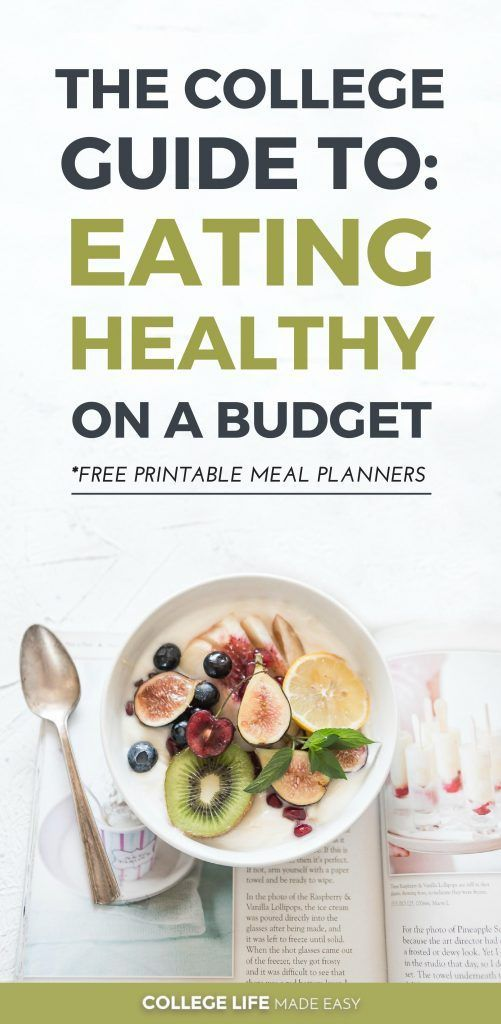 How to Eat Healthy in College on a Budget, Healthy College Meals for Cheap, Eating Clean in College & Saving Money #eatinghealthy #eatinghealthyonabudget #frugalling #college #collegelife #collegetips #collegehealth  via @esycollegelife