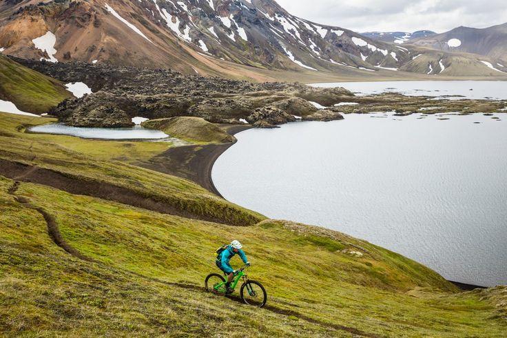Landmannalaugar region of Iceland. Photo: @Yeti Cycles