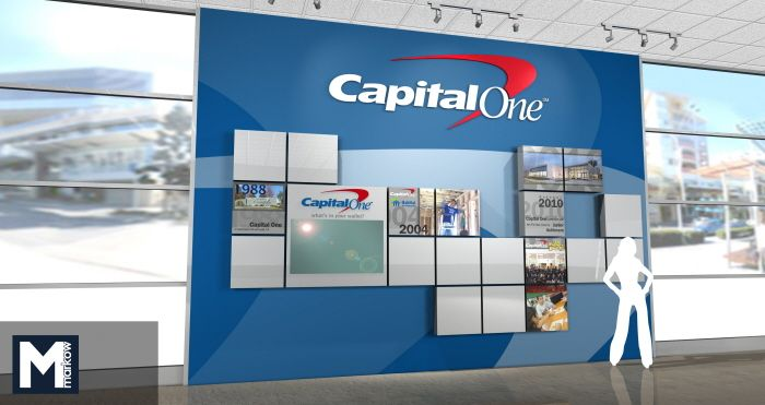Capital One Interactive Timeline by Matthew Markow at http://www.coroflot.com/matthew_markow/profile