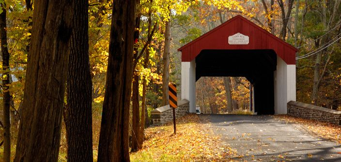 I want to do this this summer - Bucks County Covered Bridge self-driving tour!