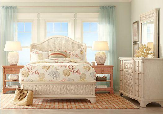 Cindy Crawford Home Bondi Beach Bisque 5 Pc King Wing