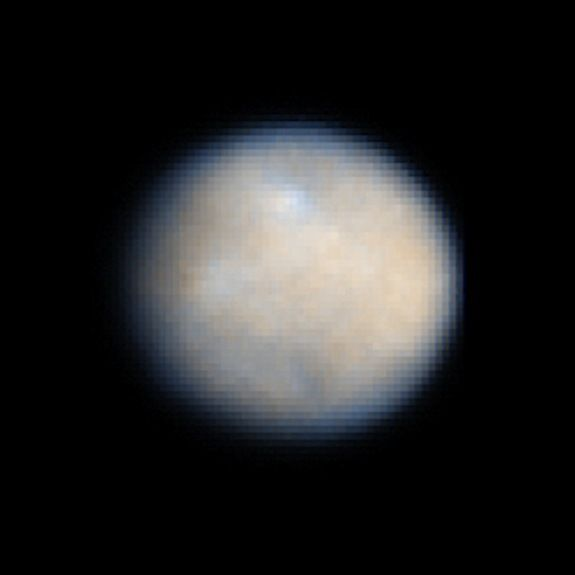 Could the Dwarf Planet Ceres Support Life? by Mike Wall, Space.com Senior Writer   |   12/22/14 The dwarf planet Ceres, also the largest asteroid in the solar system, is seen here in an amazing view from the Hubble Space Telescope. In March 2015, NASA's Dawn spacecraft is expected to enter orbit around Ceres to study the object like never before.