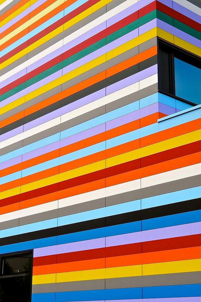 Meininger Hotel Berlin Airport. by Petersen Architekten    We love hotels!  Also see http://www.falkensteiner.com