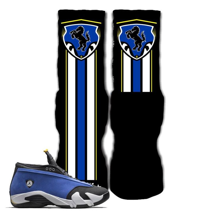 Jordan 14 Laney Elite Socks - Laney Shield