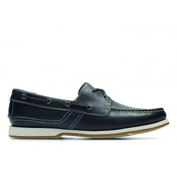 Fulmen Row, men's boat shoes, Navy - Going nautical this summer, then complete your look with these deck shoes from our latest men's collection. Using the moccasin construction and crafted from rich, dark brown leather, this style is timeless and will transcend the summer seasons. With breathable leather linings, these slip-on shoes are comfortable enough to be worn barefoot. https://www.marshallshoes.co.uk/mens-c1/clarks-mens-fulmen-row-navy-leather-boat-shoes-p4609