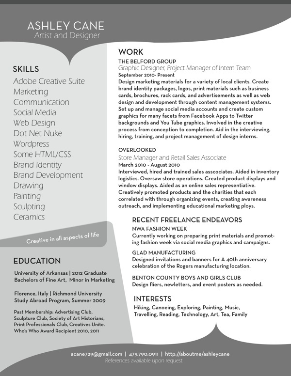 10 Best Resumes Images By Elizabeth Seagle On Pinterest
