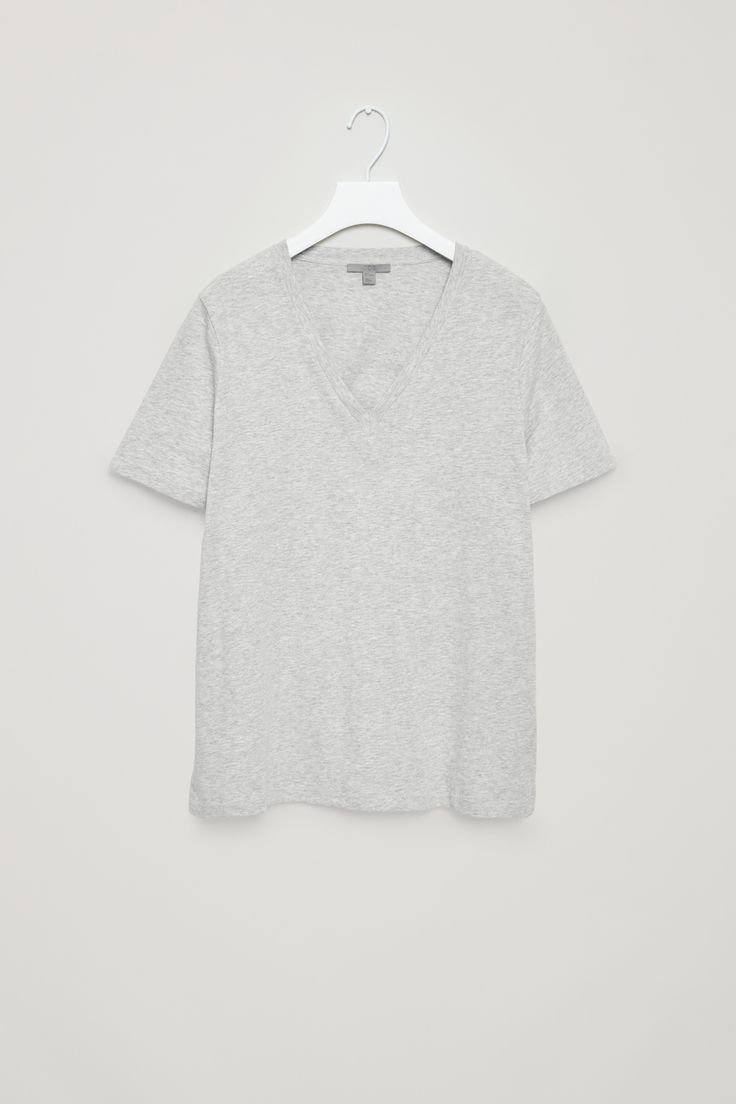 COS | V-neck cotton t-shirt