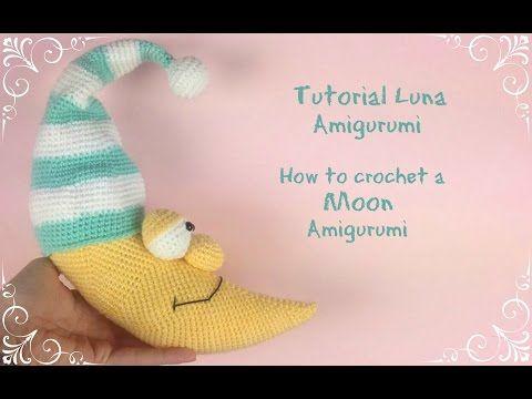 Schema per luna amigurumi - Tutorial in italiano. - Creatività Organizzata
