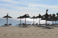 The beach in Palma Nova, Mallorca