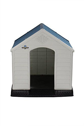 Confidence Pet XL Waterproof Plastic Dog Kennel Outdoor Winter House EXTRA LARGE | Dog Supplies - Warning: Save up to 87% on Dog Supplies and Dog Accessories at Our Online Pet Supply Shop