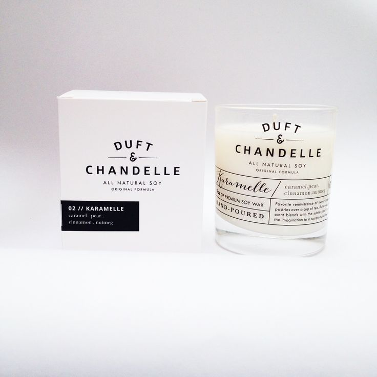 Duft and Chandelle Hand-poured scented soy candles based in Jakarta - styling