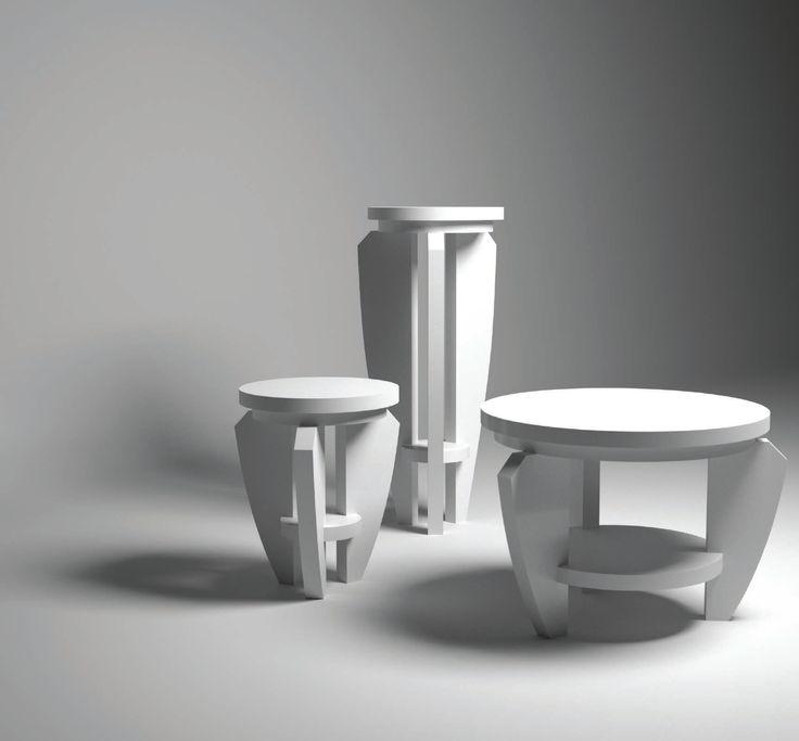 Nanà Collection: Tavolini di servizio e da salotto in mdf laccato goffrato. scopri tutte le collezioni di #artdesign realizzate da #Fabio #Masotti:   #arredamento #mobili #complementi #shop #arredo #artdecor  http://www.fabiomasotti.it/design-mobili-art-contemporaneo-moderno/