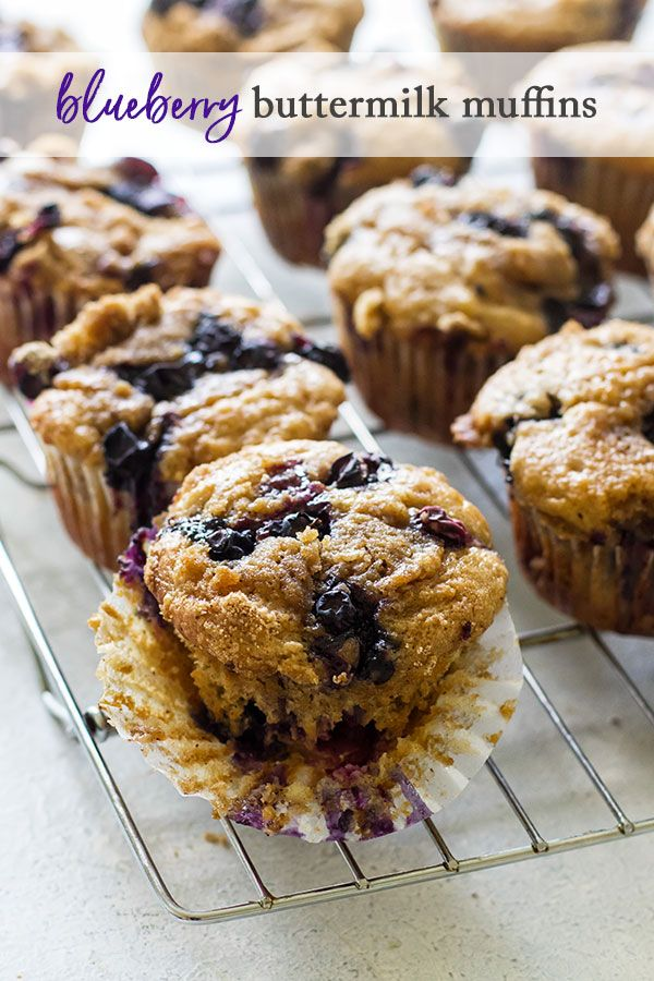 Blueberry Buttermilk Muffins Recipe Buttermilk Muffins Gourmet Comfort Food Banana Blueberry Muffins