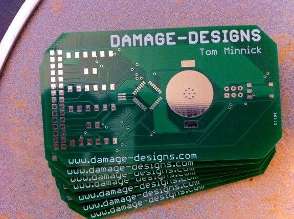 Circuit Board Business Card Unusual Business Card Business Cards Creative Business Cards Layout